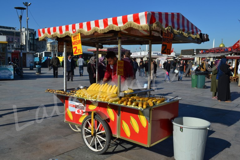 Istanbul Kids Activities Turkey corn kart