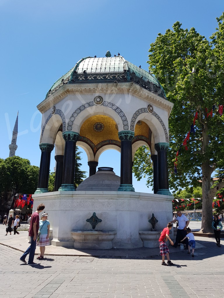 Istanbul Old City Tour German Fountain