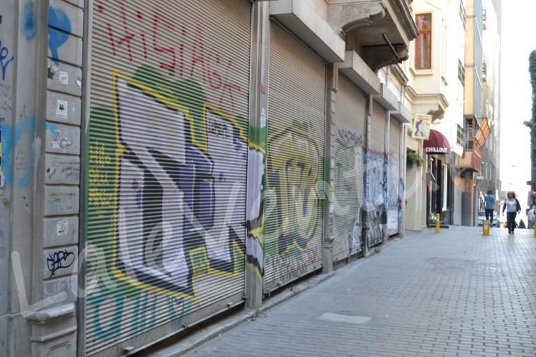 Istiklal street side street