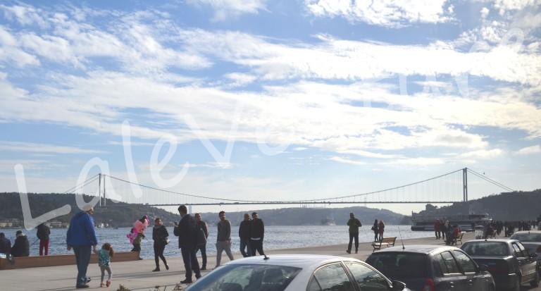 Walk near the Bosphorus Strait