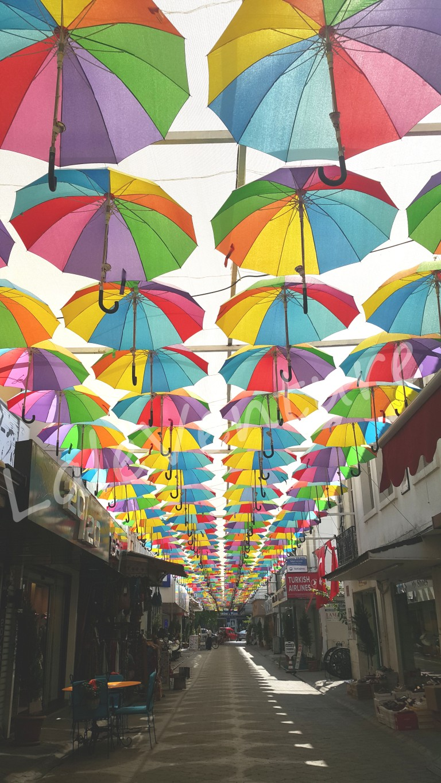 letoonia nakhal fethiye turkey laleventure Umbrella Street fethiye